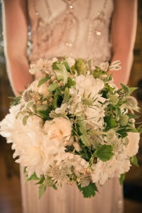 bridal bouquet L and M