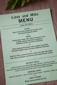 complete menu